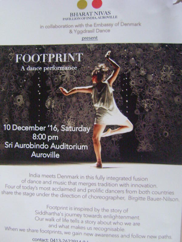 Photographer:web | Footprint - dnace performance on 10th of Decmeber at Bharat Nivas