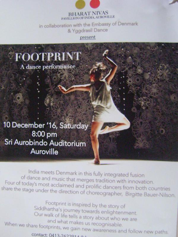 Photographer:web   Footprint - dnace performance on 10th of Decmeber at Bharat Nivas