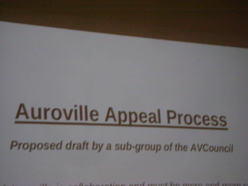 Photographer:Romel | Auroville Appeal Process