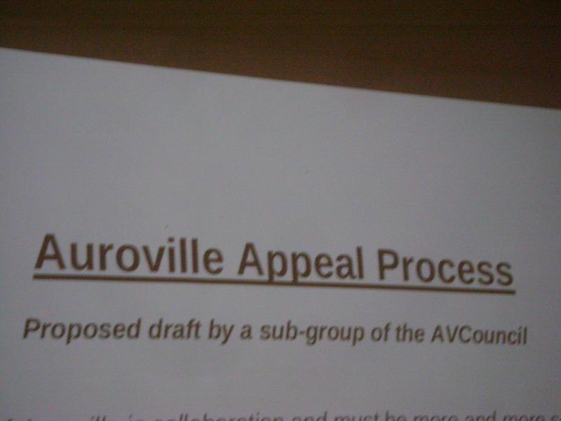 Photographer:Romel | Auroville Appeal Process