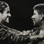George Michael  adn Aretha Franklin