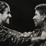 George Michael  adn Aretha Franklin
