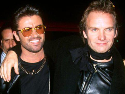 Photographer:web | George Michael  and Sting