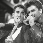 George Michael and his close friend Andrew Ridgeley