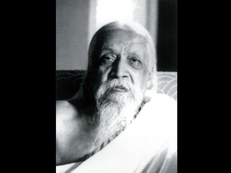 Photographer:Cartier Bresson | Sri Aurobindo, 4/23/50