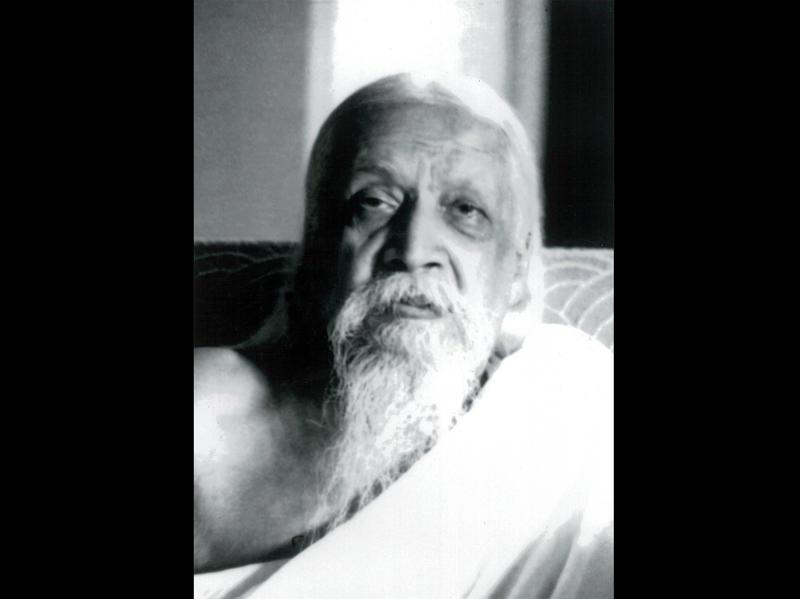 Photographer:Cartier Bresson | Sri Aurobindo, 4/23/50