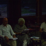 Aster with Students from California Institute of Integral Studies,
