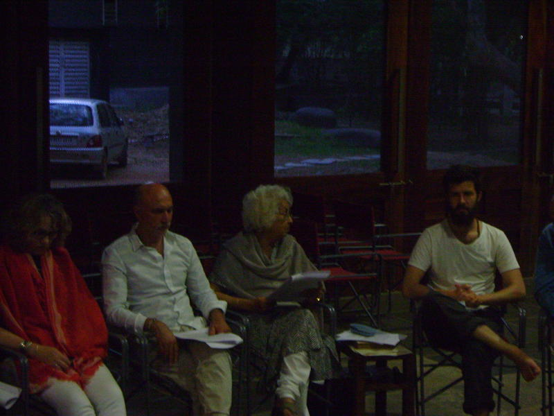 Photographer:Romel | Aster with Students from California Institute of Integral Studies,