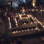 New Year's meditation at Pavilion of Tibetan Culture , IZ