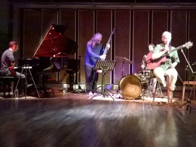 Photographer:Alhya | Jazz Night at Cripa with Sid Jacobs, Matt, Holger, Srinivasan