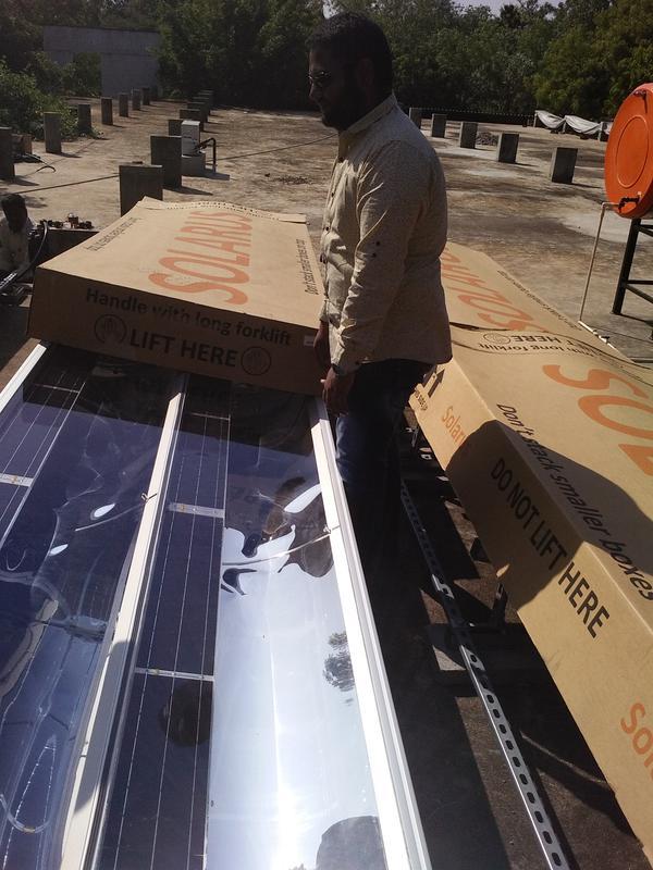 Photographer:Romel | Solarus Solar in Auroville