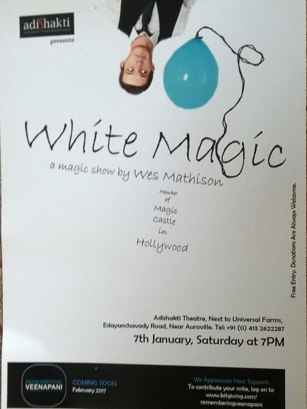 Photographer:Tilia | White MAgic at Adishkati on 7th at 7pm