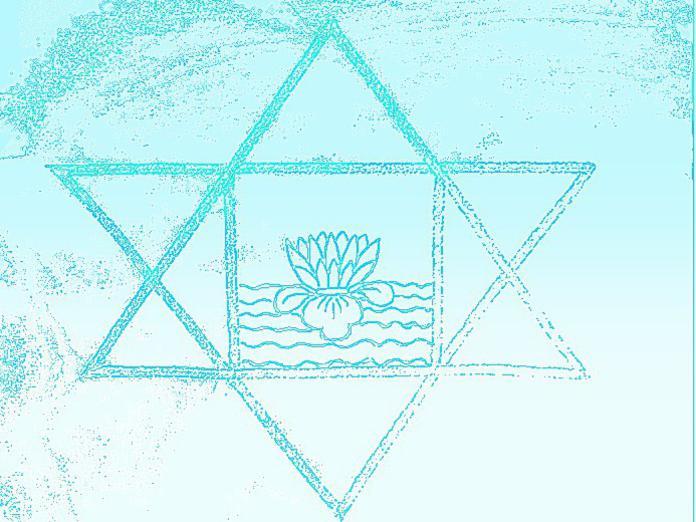 Photographer:web | Sri Aurobindo's symbol