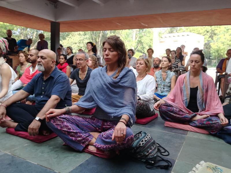 Photographer:Wobbli | Meditating people