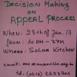 RAD on Appeal Proces deadline 28th