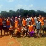 Ultimate Frisbee - 6th annual Auroville Hat Tournament