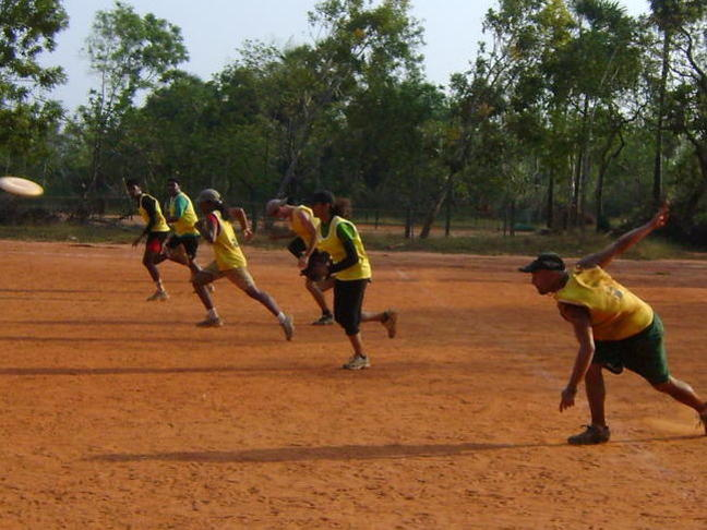 Photographer:web | 7th annual AV Hat Tournament  by The Auroville Ultimate Frisbee