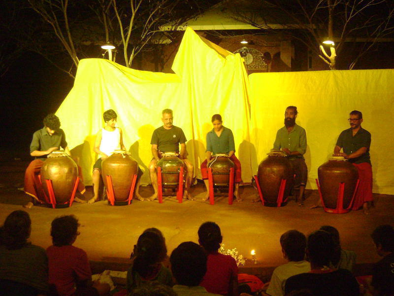 Photographer:Nela | Adishkati Team officially opened the festival with drumming