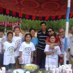 Kalsang, Srinivasamurty and TCV studetns