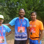 runners from Chennai - Murali, Kavraman, Nagesh