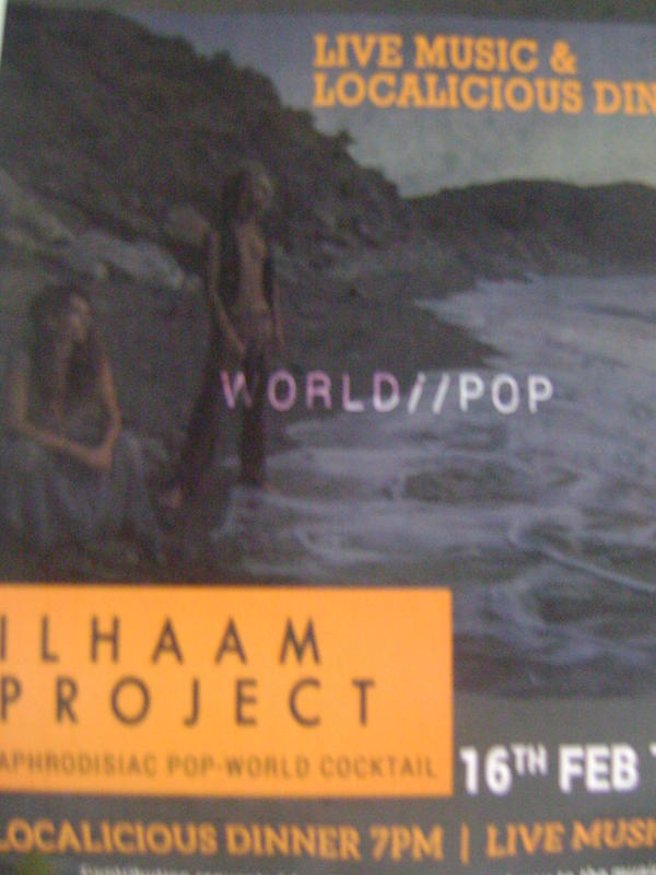 Photographer:Breda | Ilhaam Project at Solitude Farm tonight at 8pm