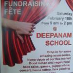 Deepanam fundraiser on 18th