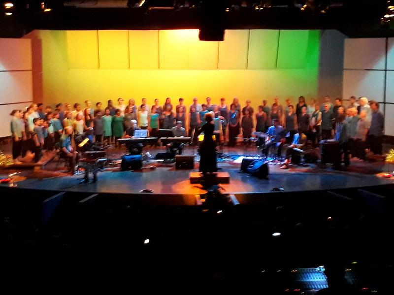 Photographer:Amadea   The Peacemakers - Youth Choir, AV Choir, Instrumental Ensemble