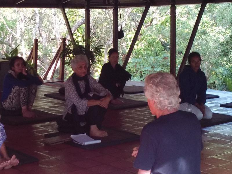Photographer:Romel-and-Mimansha | Beginners to Tai-Chi at Sharanga community