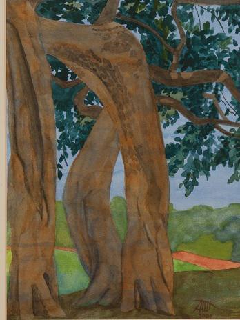 Photographer:web  artforland.auroville.org | Three Graces by Audrey