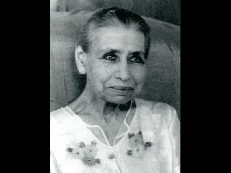 Photographer:web Sri Aurobindo Ashram Archive | The Mother