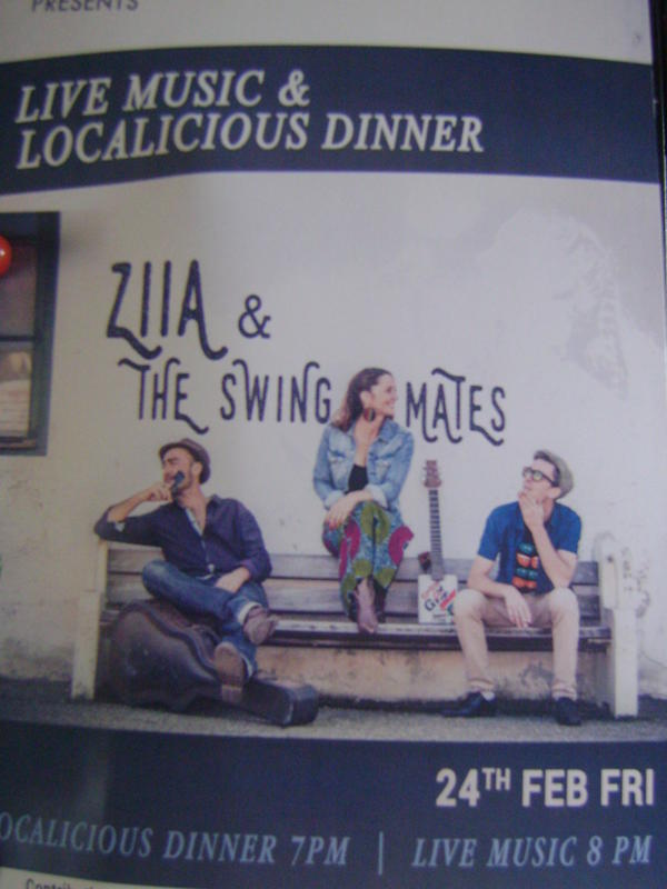 Photographer:web | Ziia & The Swing Mates on 24th at Solitude