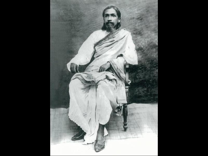 Photographer:Ashram Archives   Sri Aurobindo
