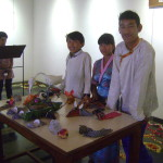 exhibition of their children's work