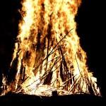 bonfire at MM