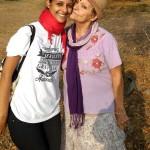 Kavita (Youth Link and Anandi (Argentina)