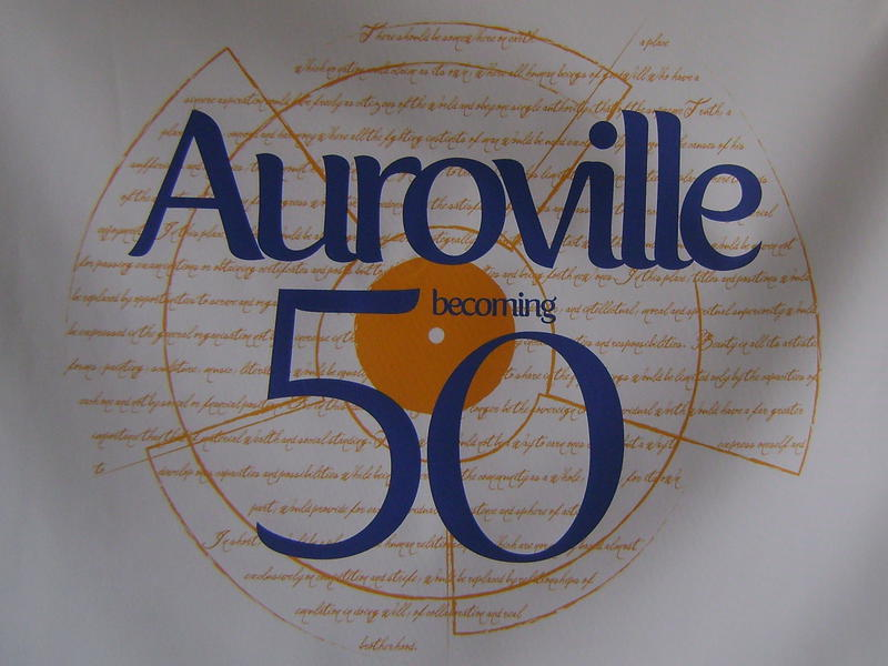 Photographer:web   Auroville becoming 50