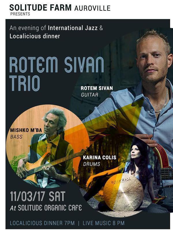 Photographer:web | Rotem Sivam Trio at Solitude on 11th