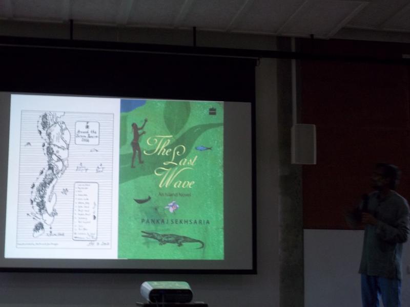 Photographer:Neha | Pankaj Sekhsaria talking about his previous book