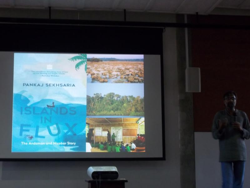 Photographer:Neha | Pankaj Sekhsaria talking about his new book