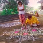 Kolam art, the joy in making