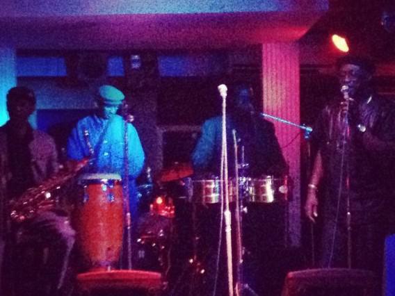 Photographer:web | Orchestra Baobab  in club in Dakar