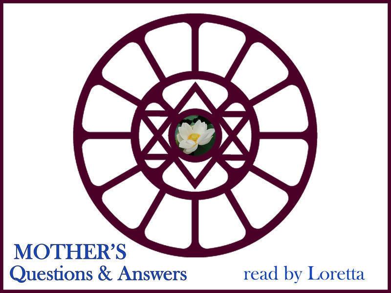 Photographer:Loretta | Sri Auirobindo's Symbol In Mother's Symbol - Designed By Mother