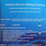 Svaram - Intergal Sound Helaing Training