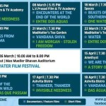 films on water at Chennai