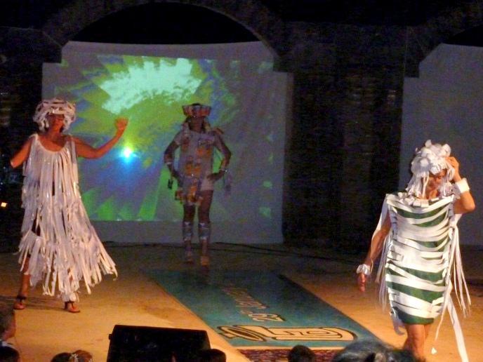Photographer:web   Trashion show in 2010 at LFA
