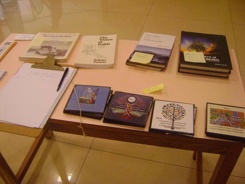 Photographer:Breena | Prof Sehdev Kumar books and CDs