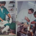 Dr. Kumar performing his unique surgery