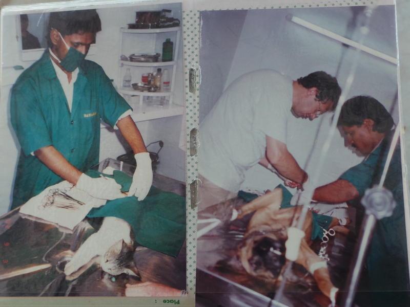 Photographer:Romel | Dr. Kumar performing his unique surgery