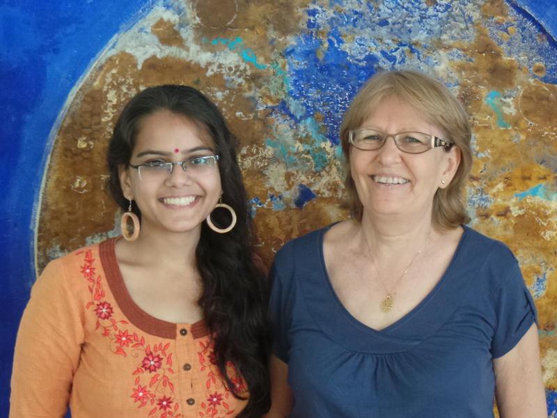 Photographer:Romel | Jaya & Divyanshi a study group on Economy