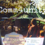 COMM4UNITY on Saturday 8th between 5pm to 9pm at Youth Centre